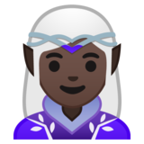 Woman Elf: Dark Skin Tone on Google Android 10.0