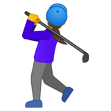 Woman Golfing on Google Android 10.0