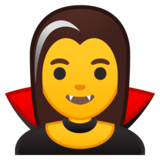 Woman Vampire on Google Android 10.0