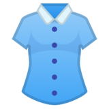 Woman's Clothes on Google Android 10.0