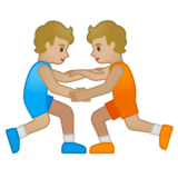 Wrestlers, Type-3 on Google Android 10.0