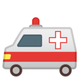 Ambulance on Google Android 10.0 March 2020 Feature Drop
