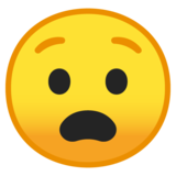 Anguished Face on Google Android 10.0 March 2020 Feature Drop