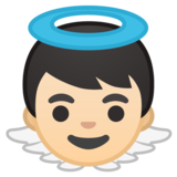 Baby Angel: Light Skin Tone on Google Android 10.0 March 2020 Feature Drop