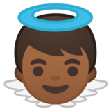Baby Angel: Medium-Dark Skin Tone on Google Android 10.0 March 2020 Feature Drop