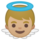 Baby Angel: Medium-Light Skin Tone on Google Android 10.0 March 2020 Feature Drop