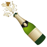 Bottle with Popping Cork on Google Android 10.0 March 2020 Feature Drop