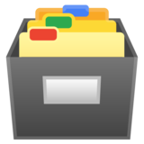 Card File Box on Google Android 10.0 March 2020 Feature Drop