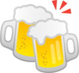 Clinking Beer Mugs on Google Android 10.0 March 2020 Feature Drop