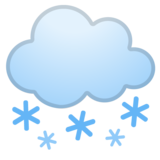 Cloud with Snow on Google Android 10.0 March 2020 Feature Drop