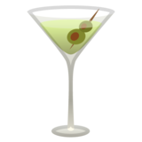 Cocktail Glass on Google Android 10.0 March 2020 Feature Drop