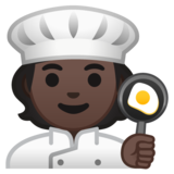 Cook: Dark Skin Tone on Google Android 10.0 March 2020 Feature Drop