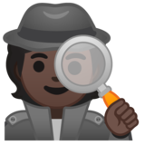 Detective: Dark Skin Tone on Google Android 10.0 March 2020 Feature Drop