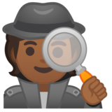 Detective: Medium-Dark Skin Tone on Google Android 10.0 March 2020 Feature Drop