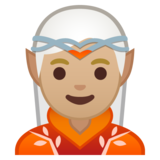 Elf: Medium-Light Skin Tone on Google Android 10.0 March 2020 Feature Drop
