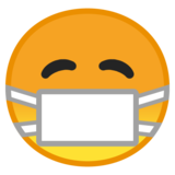 Face with Medical Mask on Google Android 10.0 March 2020 Feature Drop