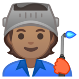 Factory Worker: Medium Skin Tone on Google Android 10.0 March 2020 Feature Drop