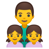 Family: Man, Girl, Girl on Google Android 10.0 March 2020 Feature Drop