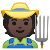 Farmer: Dark Skin Tone on Google Android 10.0 March 2020 Feature Drop