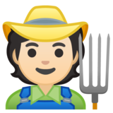 Farmer: Light Skin Tone on Google Android 10.0 March 2020 Feature Drop