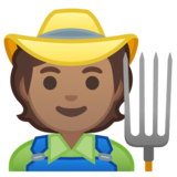 Farmer: Medium Skin Tone on Google Android 10.0 March 2020 Feature Drop