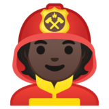 Firefighter: Dark Skin Tone on Google Android 10.0 March 2020 Feature Drop