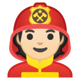 Firefighter: Light Skin Tone on Google Android 10.0 March 2020 Feature Drop