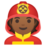 Firefighter: Medium-Dark Skin Tone on Google Android 10.0 March 2020 Feature Drop