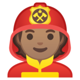 Firefighter: Medium Skin Tone on Google Android 10.0 March 2020 Feature Drop