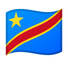 Flag: Congo - Kinshasa on Google Android 10.0 March 2020 Feature Drop