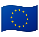 Flag: European Union on Google Android 10.0 March 2020 Feature Drop