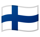 Flag: Finland on Google Android 10.0 March 2020 Feature Drop