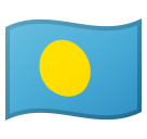 Flag: Palau on Google Android 10.0 March 2020 Feature Drop