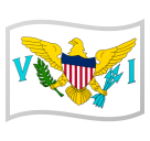 Flag: U.S. Virgin Islands on Google Android 10.0 March 2020 Feature Drop