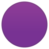 Purple Circle on Google Android 10.0 March 2020 Feature Drop