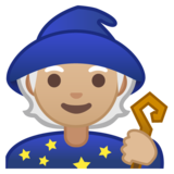 Mage: Medium-Light Skin Tone on Google Android 10.0 March 2020 Feature Drop