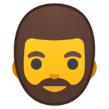 Man: Beard on Google Android 10.0 March 2020 Feature Drop