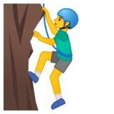 Man Climbing on Google Android 10.0 March 2020 Feature Drop
