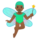 Man Fairy: Medium-Dark Skin Tone on Google Android 10.0 March 2020 Feature Drop