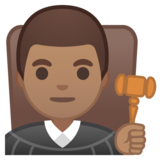 Man Judge: Medium Skin Tone on Google Android 10.0 March 2020 Feature Drop