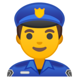 Man Police Officer on Google Android 10.0 March 2020 Feature Drop