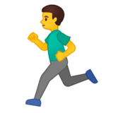 Man Running on Google Android 10.0 March 2020 Feature Drop