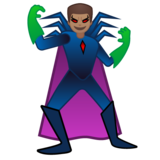 Man Supervillain: Medium Skin Tone on Google Android 10.0 March 2020 Feature Drop