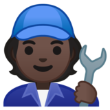 Mechanic: Dark Skin Tone on Google Android 10.0 March 2020 Feature Drop