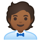 Office Worker: Medium-Dark Skin Tone on Google Android 10.0 March 2020 Feature Drop