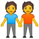 People Holding Hands on Google Android 10.0 March 2020 Feature Drop