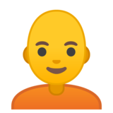 Person: Bald on Google Android 10.0 March 2020 Feature Drop