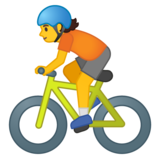 Person Biking on Google Android 10.0 March 2020 Feature Drop