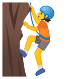 Person Climbing on Google Android 10.0 March 2020 Feature Drop