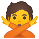 Person Gesturing No on Google Android 10.0 March 2020 Feature Drop